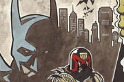 Dredd vs Batman vs Death