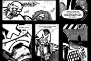 Judge Dredd 'Red in Tooth and Claw' Page 4