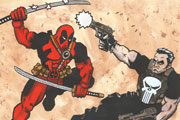 Punisher vs Deadpool